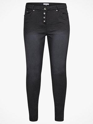 Zhenzi Byxor Samba Pants Super Slim svarta
