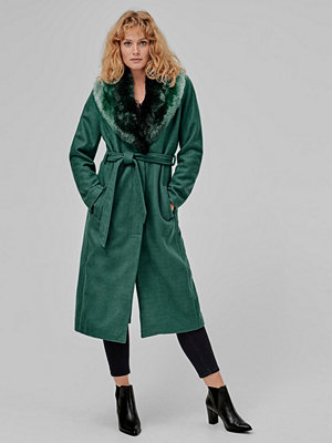 Vila Kappa viValda Long Wool Coat