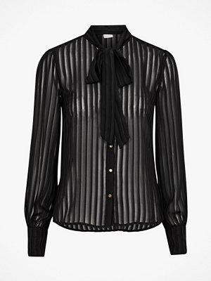 Vila Knytblus viAddie L/S Bow Shirt