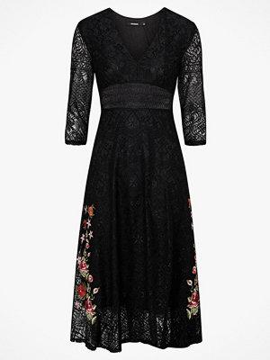 Desigual Spetsklännning Vest Julil Dress