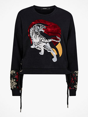 Desigual Sweatshirt Tiger Flash