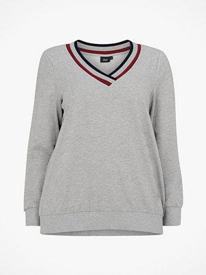Zizzi Sweatshirt MEzra L/S
