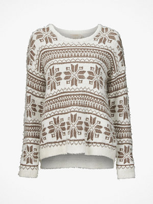 Cream Tröja Holiday Sweater