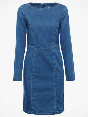 Esprit Jeansklänning Dress Midi