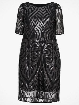 Zizzi Paljettklänning MElina 2/4 Dress