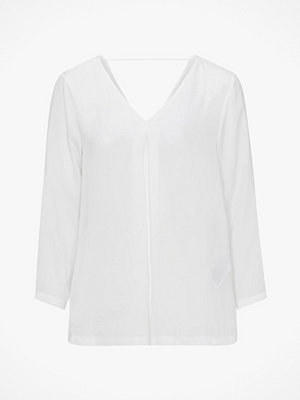 Only Topp onlNatalia Sateen V Neck Top