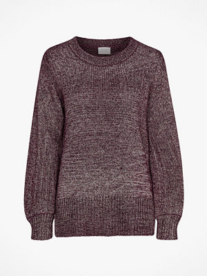 Vila Tröja viCleared Knit Metallic Top