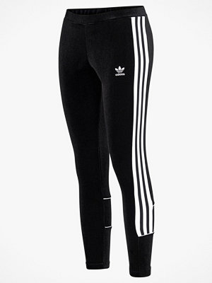 Adidas Originals Leggings i sammet
