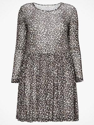 Only Carmakoma Klänning varDoon LS Dress Animal, leopardmönstrad