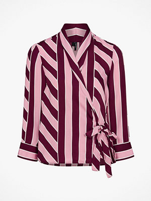 Vero Moda Blus vmKatlyn 7/8 Wrap Top Exp