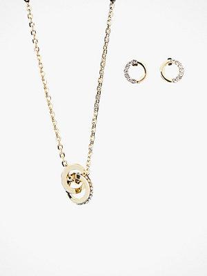 SNÖ of Sweden Smyckeset halsband och örhängen neck Connected