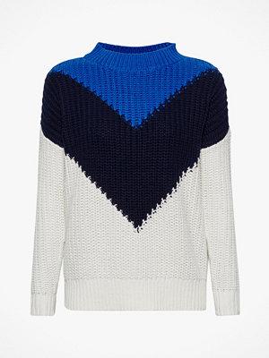 Esprit Stickad tröja med färgblock