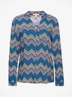 Esprit Blus med färgglatt mönster