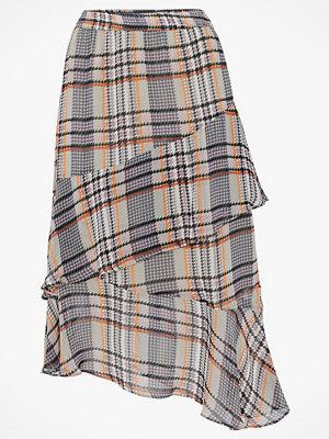 Soaked in Luxury Kjol SX Celest Checked Skirt
