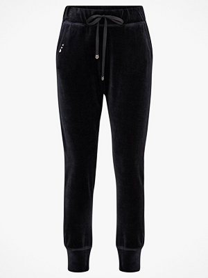 Odd Molly Velourbyxor Slow Jam Pants svarta