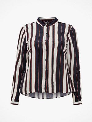 Vero Moda Curve Skjorta vmStripy LS Shirt Curve