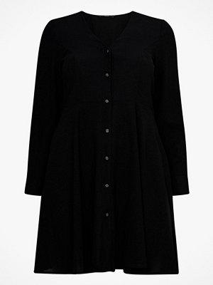 Vero Moda Curve Klänning vmMille L/S Short Shirt Dress