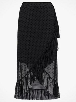 Kjolar - Only Volangkjol onlStina Mesh Wrap Skirt