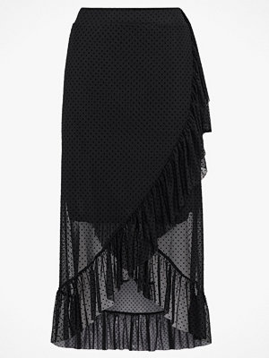 Only Volangkjol onlStina Mesh Wrap Skirt