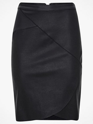 Only Kjol onlNaya Wrap Midi Skirt