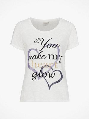 Cream Topp Liana Tshirt