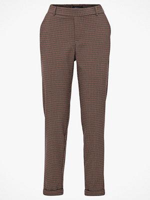 Vero Moda Byxor vmMaya Mr Loose Small Check Pant grå mönstrade