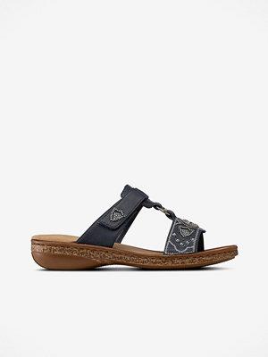 Sandaler & sandaletter - Rieker Sandaler med silverdekor