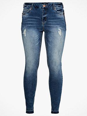 Zizzi Jeans Amy, Long Super Slim