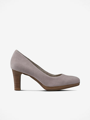 Pumps & klackskor - Tamaris Pumps i mocka/skinn