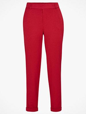 Vero Moda Byxor vmMaya MR Loose Solid Pant röda