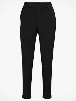 Vero Moda Byxor vmMaya MR Loose Solid Pant svarta