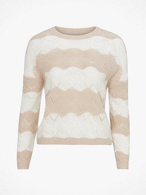 Only Tröja onlKaro L/S Stripe Pullover