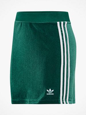 Adidas Originals Kjol 3-stripes Skirt i velour