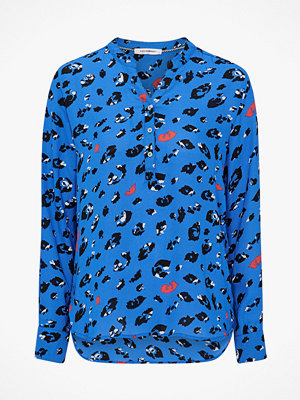 co'couture Blus Coco Wild Animal Shirt