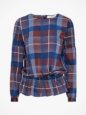 co'couture Blus Modern Check Blouse