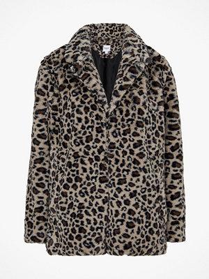 Saint Tropez Fuskpäls Leopard