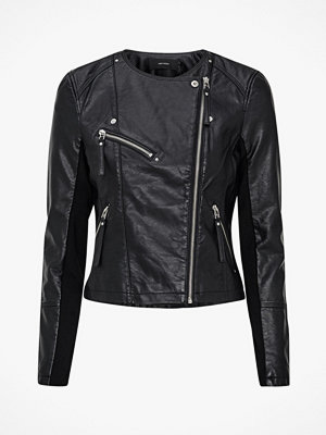 Vero Moda Bikerjacka vmRia Fav Short Faux Leather Jacket
