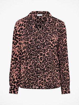 Vila Blus viFabina L/S Shirt Leopard