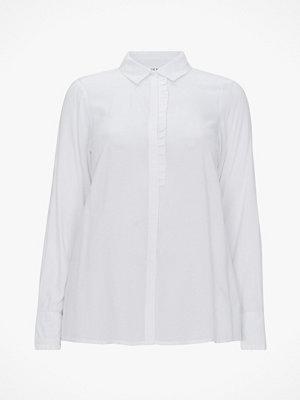 Zhenzi Blus Shirt L/S Jaquard Woven
