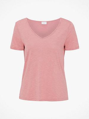 Vila Topp viNoel S/S V-neck T-shirt Fav