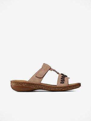 Rieker Sandaler med dekorsnäckor