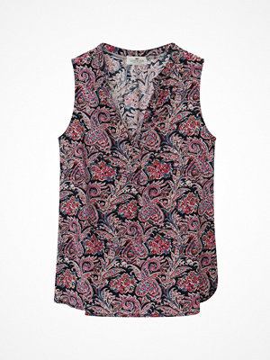 Lexington Blus Nadeen Paisley Top