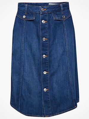 Kjolar - Esprit Jeanskjol med knappar fram