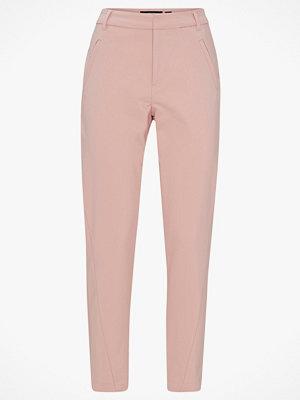 Vero Moda Byxor vmVictoria MR Antifit Ankle Pants persikofärgade