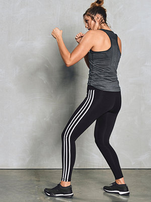 Sportkläder - adidas Sport Performance Träningstights W D2M 3-stripe HR LT