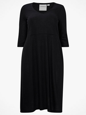Junarose Klänning jrBumpa 3/4 Sl Midi Knee Dress