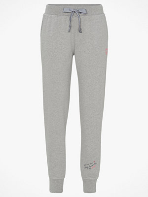 Odd Molly Mjukisbyxor Soft Tracks Sweat Pant ljusgrå