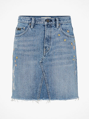 Odd Molly Jeanskjol Hot Cuts Skirt