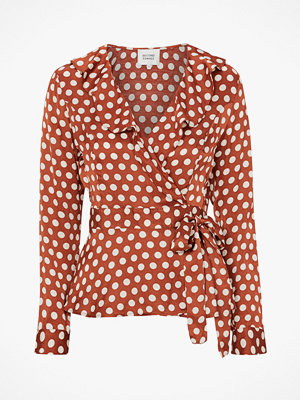 Second Female Blus Spotty Wrap Blouse