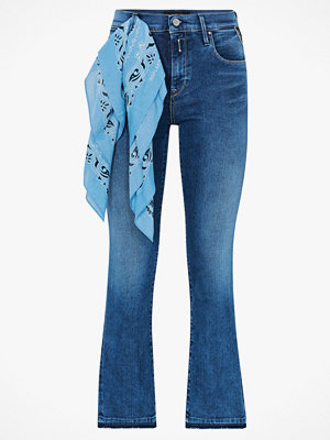 Replay Jeans Poppi Cropped Flare